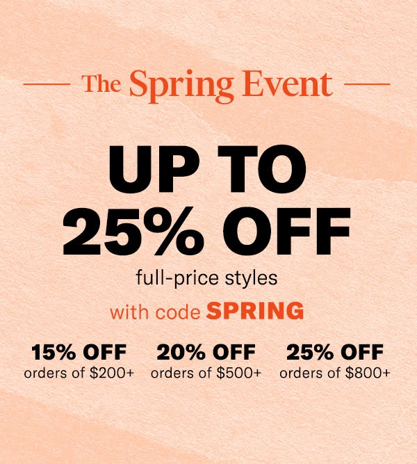 Shopbop Sale: Buy More, Save More