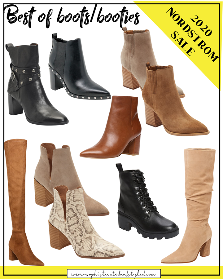 NSALE 2020 Best of Boots and Booties