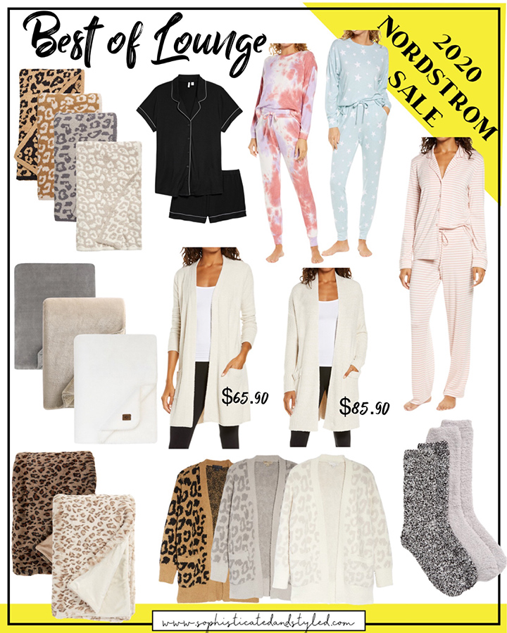 NSALE cozies and loungewear